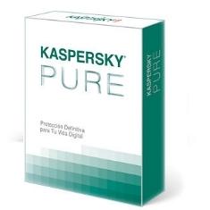 KASPERSKY ANTIVIRUS KASPERSKY PURE v 3.0 3 USUARIOS