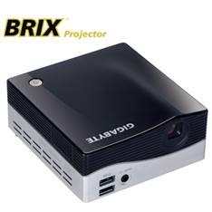 GIGABYTE BAREBONE BRIX GIGABYTE GB-BXPI3-4010 INTEL I3+ PROYECTOR WVGA,  SIN DISCO SSD SIN MEMORIA,  USB 3.0 HDMI WIFI BLUETOOTH, VESA