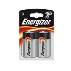 ENERGIZER BLISTER ENERGIZER DOS PILAS LR-20  ( D ) 1.5V / LINTERNAS / RADIOS/ JUEGO ELECTRONICOS / MANDOS A DISTANCIA