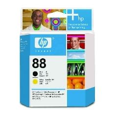HP CABEZAL HP NEGRO/AMARILLO Nº88, HP PRO K550, 41500 Pag