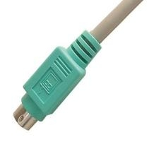 NEKLAN S.A.S CABLE PROLONGADOR TECLADO/MOUSE PS2 MACHO HEMBRA 1.8M