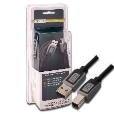 A DETERMINAR CABLE USB DIGITUS 2.0 A MACHO B MACHO 3M BLISTER NEGRO