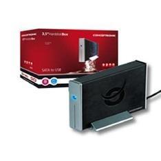 """CONCEPTRONIC CAJA EXTERNA CONCEPTRONIC HDD DE 3.5"""" PARA DISCO DURO SATA  USB 2.0"""