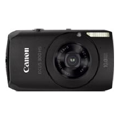 "CANON CAMARA DIGITAL CANON IXUS 300 HS NEGRA 10MP Z4X 3"" LITIO"