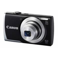 "CANON CAMARA DIGITAL CANON POWER SHOT A2500 NEGRO 16MP ZO 5X 2.7"" VIDEO HD LITIO FUNDA+TARJETA 4GB"