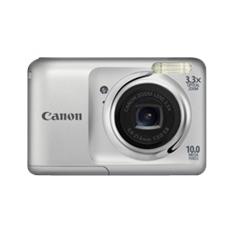 """CANON CAMARA DIGITAL CANON POWER SHOT A800 PLATA 10MP ZD 4X 2.5"""" 2XAA"""
