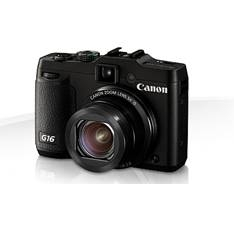 "CANON CAMARA DIGITAL CANON POWER SHOT G16 12.1MP ZO 5X 3"" HS HDMI WIFI"