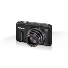"CANON CAMARA DIGITAL CANON POWER SHOT SX260 HS NEGRA 12.1 MP Z20X 25MM LCD 3"" FULL HD HDMI GPS"