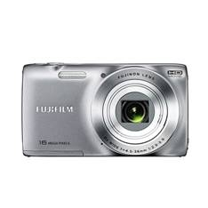 FUJIFILM CAMARA DIGITAL FUJIFILM FINEPIX JZ250 PLATA 16 MP ZOOM 8X HD + FUNDA DE REGALO