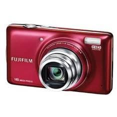 "FUJIFILM CAMARA DIGITAL FUJIFILM FINEPIX T400 ROJO 16 MP ZO X 10 HD LCD 3"" LITIO"