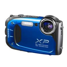 "FUJIFILM CAMARA DIGITAL FUJIFILM FINEPIX XP-60 AZUL 16.4 MP ZO X 5 HD LCD 2.7"" LITIO ACUATICA 6 METROS FULL HD"