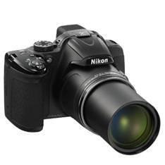 "NIKON CAMARA DIGITAL NIKON COOLPIX P520 NEGRO 18.1 MP ZO 42X  HD 3D LCD 3.2"" LITIO + 5 DE GARANTIA"