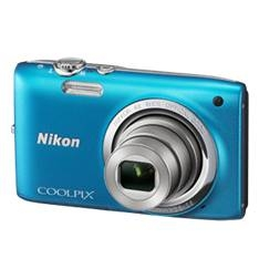 "NIKON CAMARA DIGITAL NIKON COOLPIX S2700 AZUL 16 MP ZO 6X HD LCD 2.7"" LITIO + SD 4GB + ESTUCHE + MOCHILA PLEGABLE + 5 AÑOS DE GARANTIA"