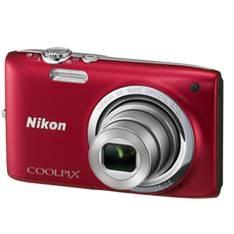 "NIKON CAMARA DIGITAL NIKON COOLPIX S2700 ROJO 16 MP ZO 6X HD LCD 2.7"" LITIO + SD 4GB + ESTUCHE + MOCHILA PLEGABLE + 5 AÑOS DE GARANTIA"