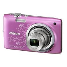 "NIKON CAMARA DIGITAL NIKON COOLPIX S2700 ROSA ART 16 MP ZO 6X HD LCD 2.7"" LITIO + SD 4GB + ESTUCHE + MOCHILA PLEGABLE + 5 AÑOS DE GARANTIA"