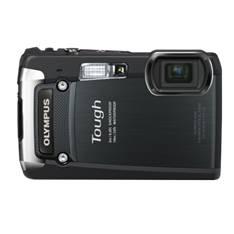 "OLYMPUS CAMARA DIGITAL OLYMPUS TG-820 NEGRA SUMERGIBLE 10 METROS  12 MP ZO 5X HD LCD 3"" LITIO"