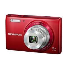 "OLYMPUS CAMARA DIGITAL OLYMPUS VG-180 ROJO 16 MP ZO 5X LCD 2.7"" LITIO"