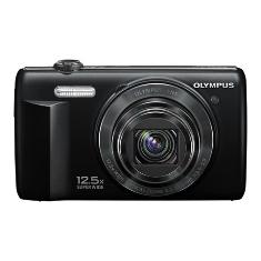 """OLYMPUS CAMARA DIGITAL OLYMPUS VR-360 NEGRA 16 MP ZO X12.5 HD LCD 3"""" LITIO"""