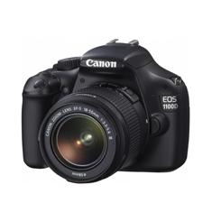 CANON CAMARA DIGITAL REFLEX CANON EOS 1100D + 18-55MM IS II 12MP