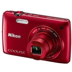 "NIKON CAMARA DIGITAL TACTIL NIKON COOLPIX S4200 ROJO 16 MP LITIO ZO 6X  HD LCD 3"" 5 AÑOS DE GARANTIA"