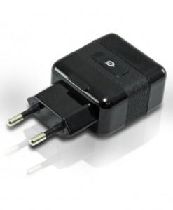 CONCEPTRONIC CARGADOR USB CONCEPTRONIC X2 DE PARED PARA TABLET MOVILES GPS MP3 CAMARAS ETC 2000mA 5V