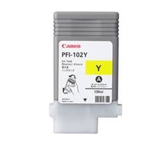 CANON CARTUCHO CANON AMARILLO PFI102 CARTIDGE Pfi-102M 130Ml Lp/17/24 Ipf/500/600/700/710/610/605/720