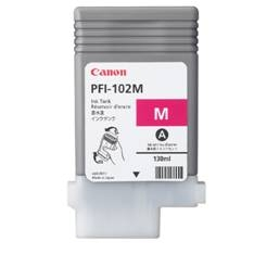 CANON CARTUCHO CANON MAGENTA PFI102 CARTIDGE Pfi-102M 130Ml Lp/17/24 Ipf/500/600/700/710/610/605/720