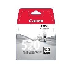 CANON CARTUCHO CANON NEGRO PGI 520 PACK 2UND PIXMA 3600/4600 MP540/620/630/980 MX860/ 870/  BLISTER