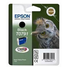 EPSON CARTUCHO DE TINTA EPSON NEGRO T0791, STYLUS PHOTO 1400