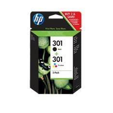 HP CARTUCHO DE TINTA HP 301 1000 / 1020 / 2050 / 2050S / 3000 / 3050 COMBO PACK