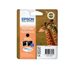 EPSON CARTUCHO DE TINTA NEGRO EPSON T07114H10, GRAN CAPACIDAD, PACK DE 2 UNIDADES