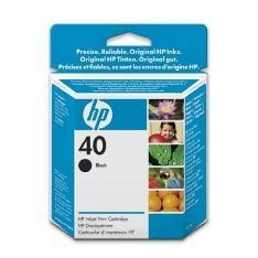 HP CARTUCHO DE TINTA NEGRO HP Nº 40  42ML