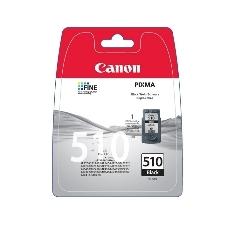 CANON CARTUCHO TINTA CANON PG 510 NEGRO 9ML IP 2700/ 2702/ MP 250/ 260/ 270/ 480/ 490/ 492/ MX 320/ 340 BLISTER