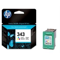 HP CARTUCHO TINTA HP 343 C8766EE TRICOLOR 7ML 5740/ 6840/ 6540/ 8150/ 8450/ 5940