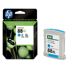 HP CARTUCHO TINTA HP 88XL C9391A CIAN 17.1ML T1100/ T1200/ T770/ T610/ T2300/ T620