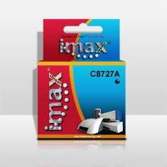 IMAX CARTUCHO TINTA IMAX C8727A Nº27 NEGRO 20ml  HP DESKJET 3320/ 3420/ 5850