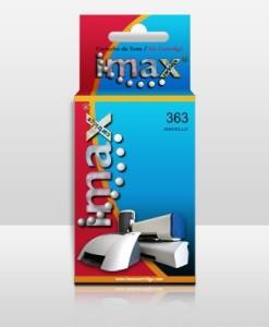 IMAX CARTUCHO TINTA IMAX C8773E Nº363 Y AMARILLO COMPATIBLE HP 3110/ 3210/ 3310/ 8250/ C5180