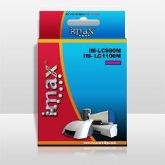 IMAX CARTUCHO TINTA IMAX LC980 / LC1100M  MAGENTA BROTHER (10.6ml)DCP145C/165C/185C/MFC6490CW/6690W