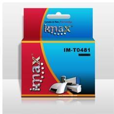 IMAX CARTUCHO TINTA IMAX T0481 NEGRO COMPATIBLE EPSON STYLUS PHOTO R200/R300/R500/R600