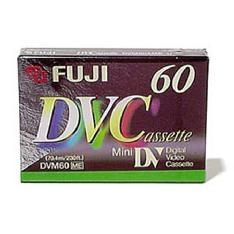 "FUJIFILM CINTA MINI DV 60"" FUJIFILM (DIGITAL VIDEO CASSETTE) UNIDAD"