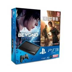 SONY ESPAÑA S.A CONSOLA PS3 500GB P + BEYOND + THE LAST OF US