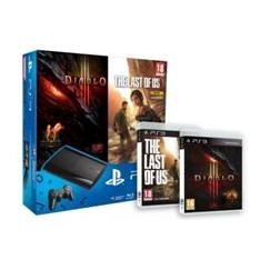 SONY ESPAÑA S.A CONSOLA PS3 500GB P + DIABLO III + THE LAST OF US
