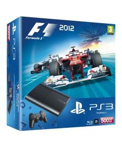 SONY ESPAÑA S.A CONSOLA PS3 SLIM 500GB NUEVA +  FORMULA 1 2012