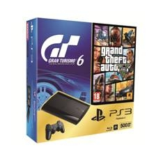 SONY ESPAÑA S.A CONSOLA SONY PS3 500GB + GT6 + GTA V