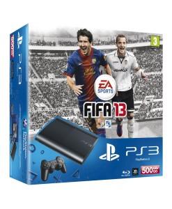 SONY ESPAÑA S.A CONSOLA SONY  PS3 SLIM 500GB NUEVA +  FIFA13