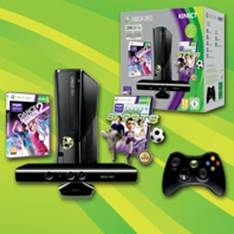 XBOX CONSOLA XBOX 360 250GB + KINECT VB HOLIDAY