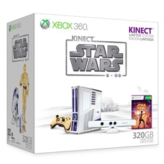 XBOX CONSOLA XBOX 360 250GB EDICION LIMITADA STAR WARS CON KINECT (INCLUYE JUEGO KINECT STAR WARS)