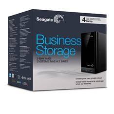 SEAGATE DISCO DURO EXTERNO HDD SEAGATE 4TB  BUSINESS NAS 2X 2Tb 3.5'' USB 3.0 LAN