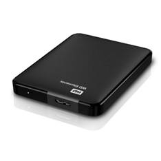 """WESTERN DIGITAL WD DISCO DURO EXTERNO HDD WD 1TB ELEMENTS 2.5"""", USB 3.0, NEGRO"""