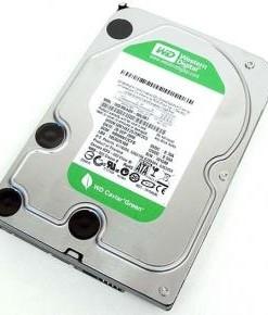 WESTERN DIGITAL WD DISCO DURO INTERNO HDD WD GREEN WD5000AZRX  500GB 3.5'' SATA 3/ 5400RPM / 64MB CACHE